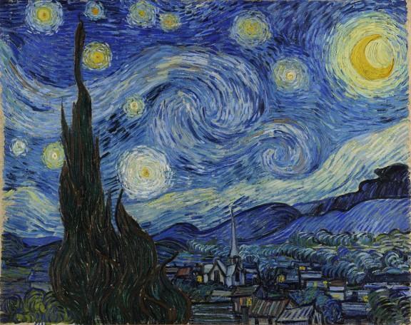 Van Gogh, estrelles i gira-sols