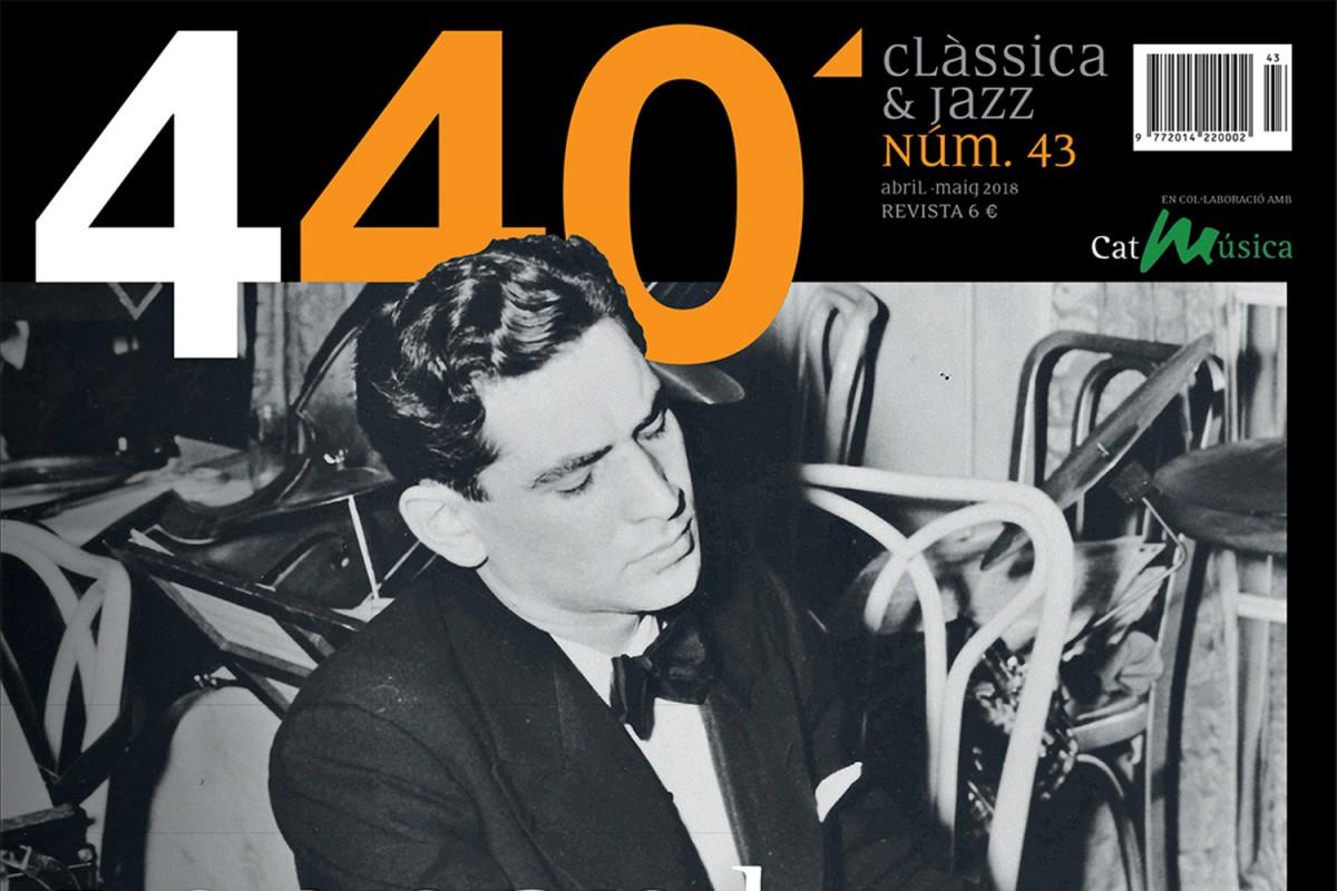 Portada de la revista '440Clàssica&Jazz' número 43