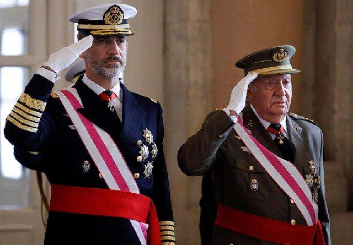 Joan Carles I i Felip VI, en una foto d'arxiu.