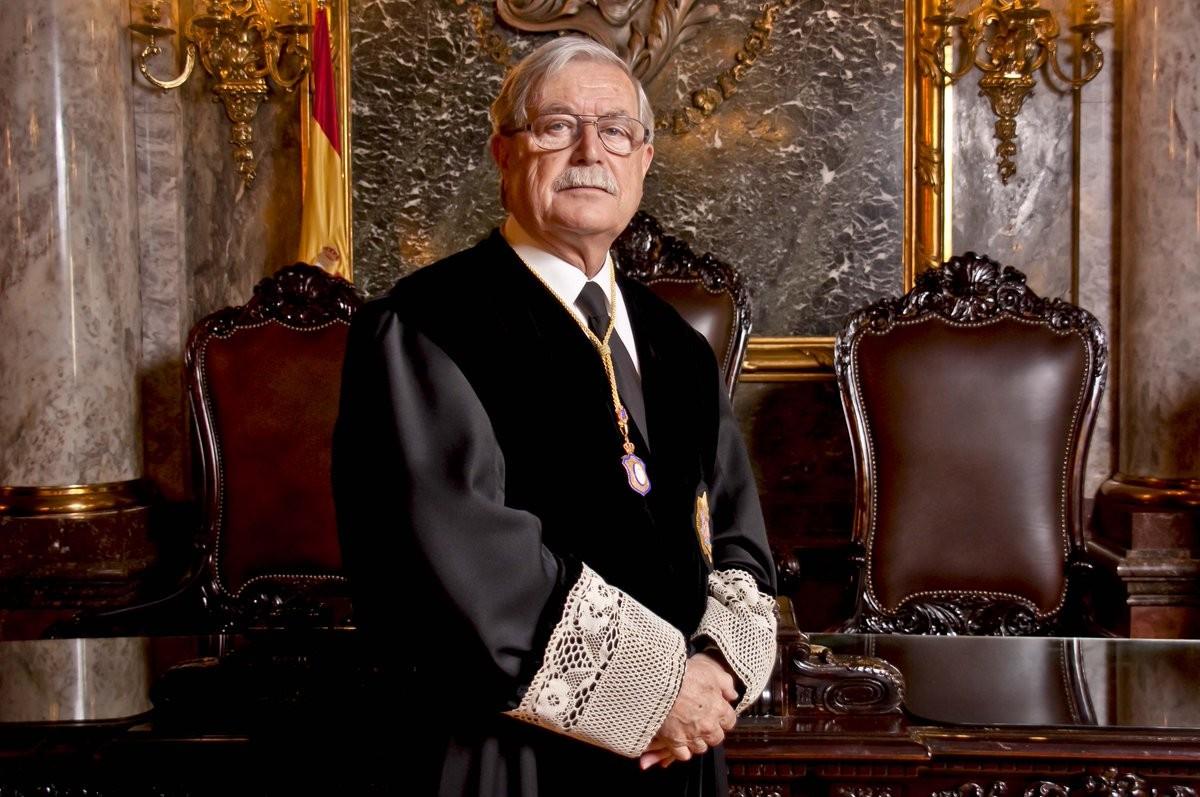 Joaquín Giménez, magistrat emèrit del Tribunal Suprem