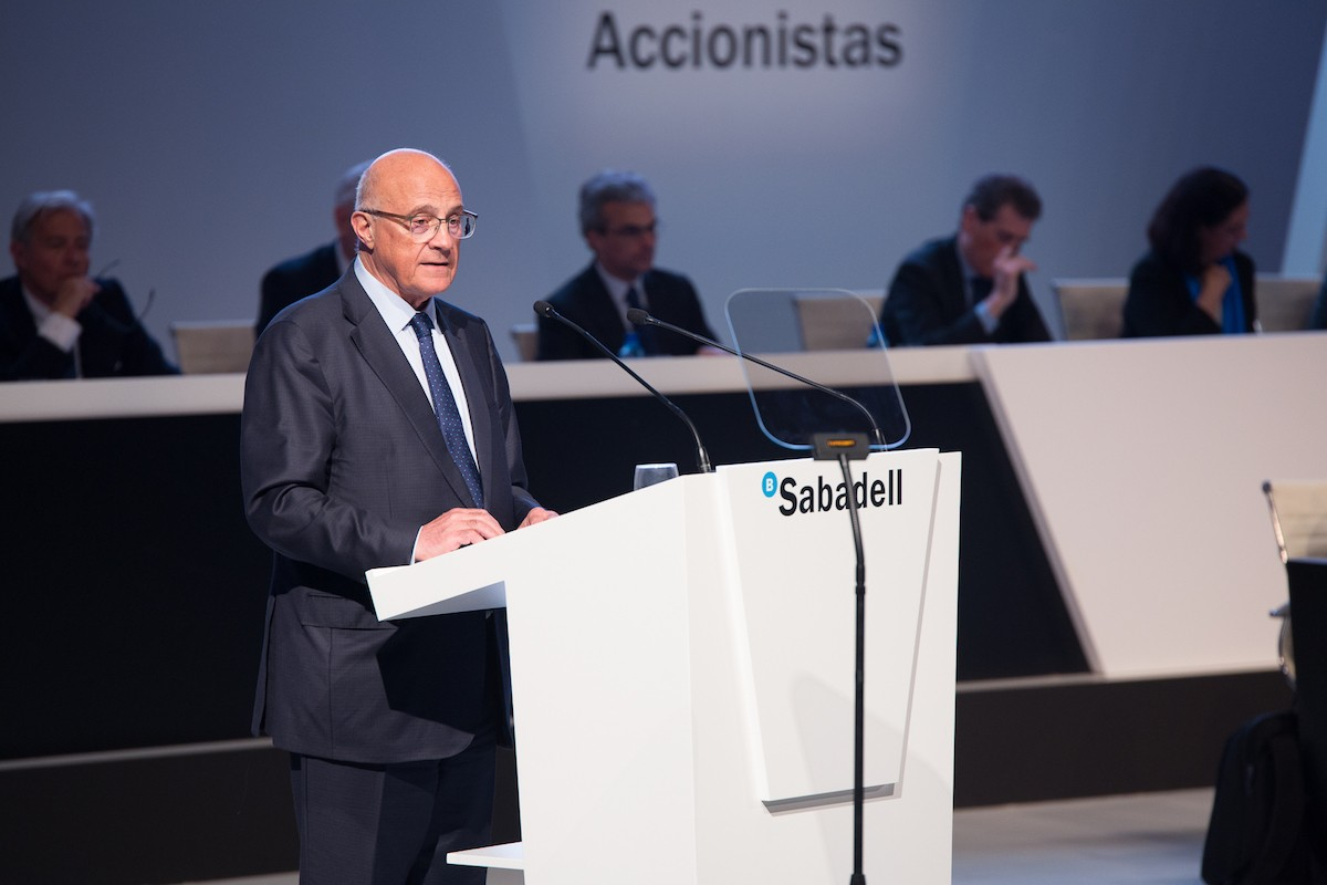 Josep Oliu, president de BancSabadell.
