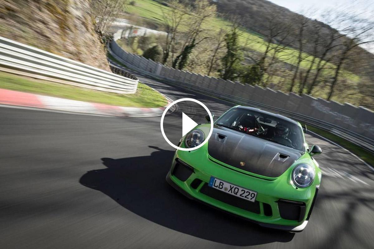 El 911 amb motor atmosfèric més potent estableix una nova referència a Nürburgring-Nordschleife
