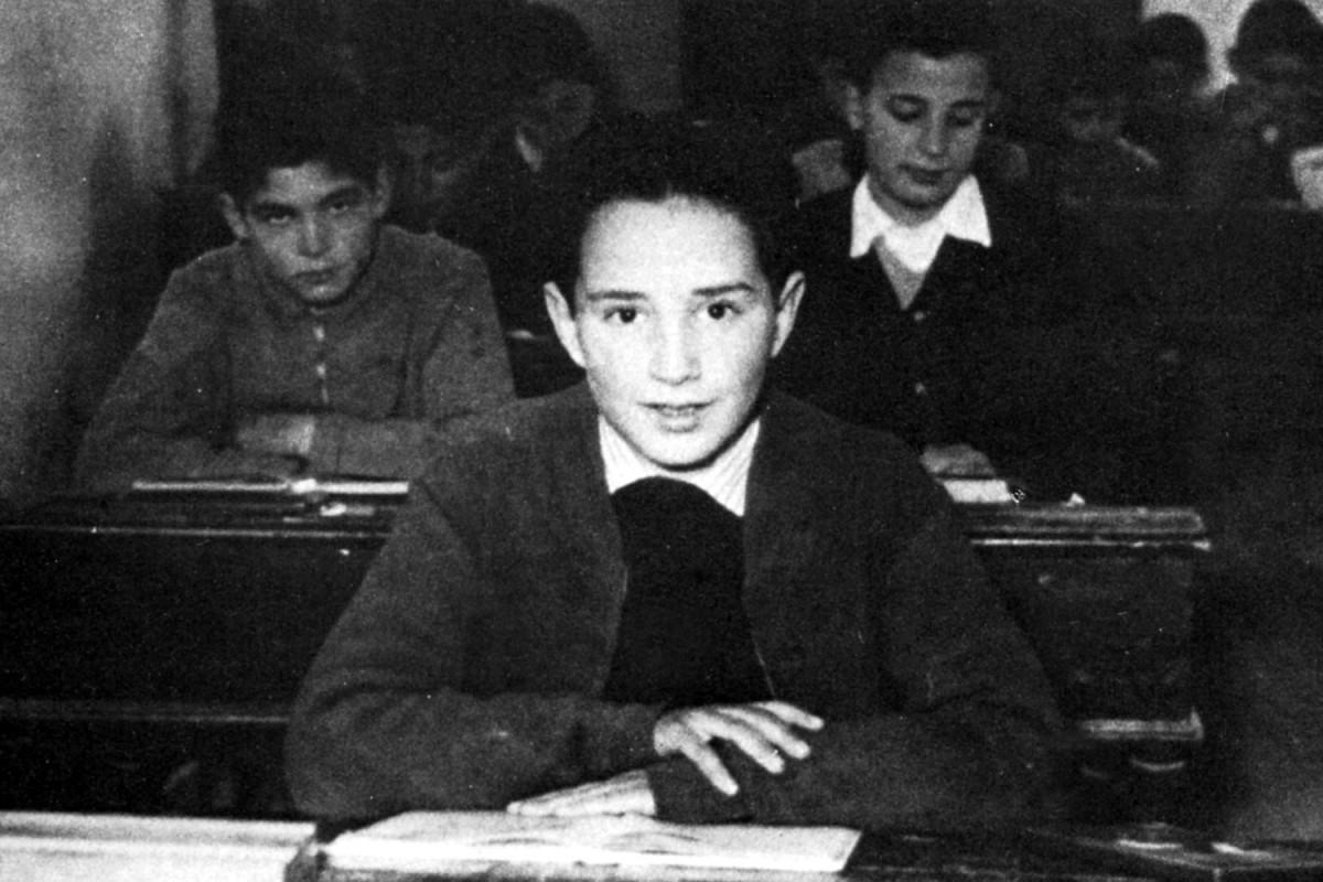 Lluís Llach amb nou anys a La Salle de Figueres