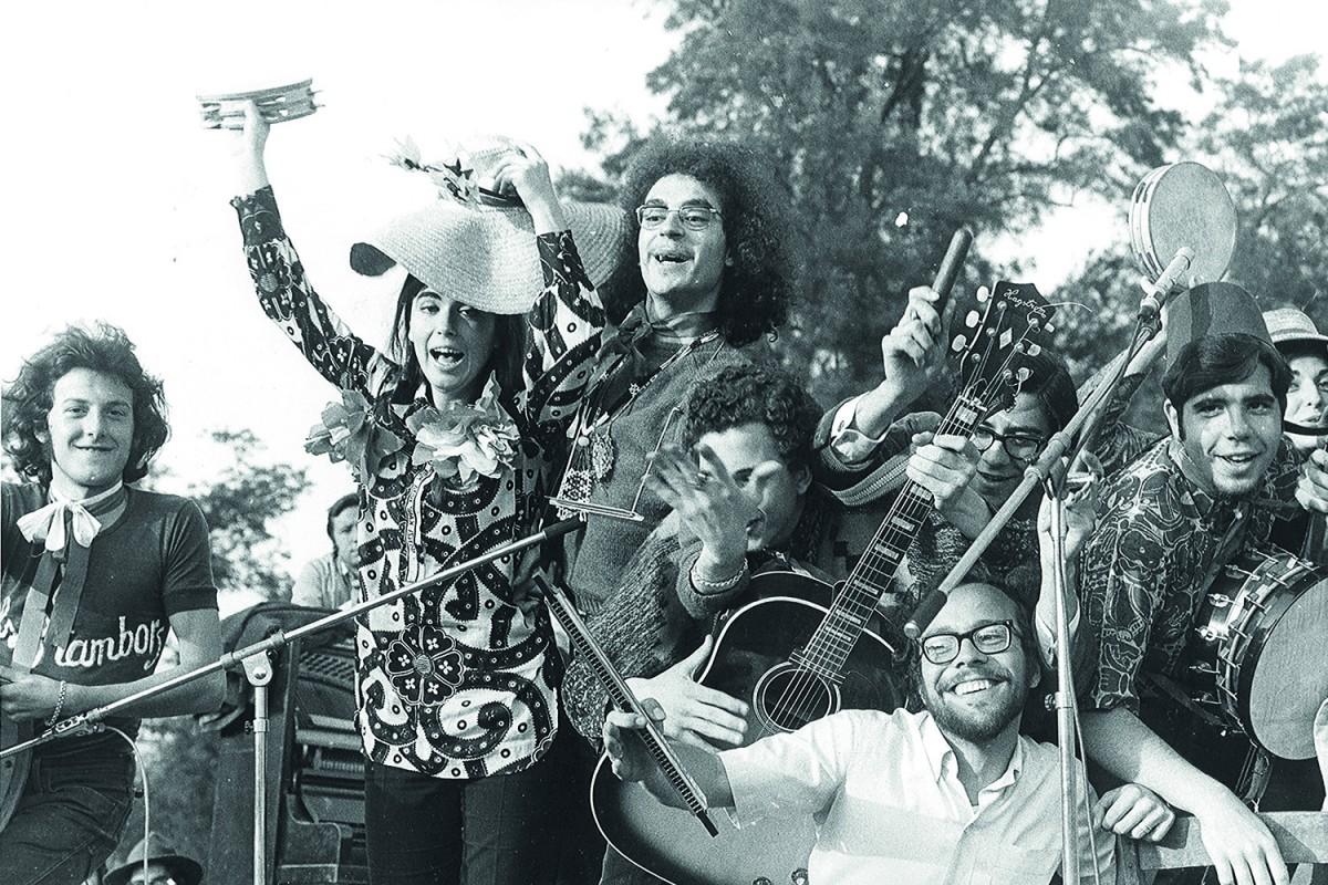 El Grup de Folk al Parc de la Ciutadella l'any 1968