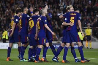 El Barça derrota la Roma i posa peu i mig a les semifinals de la Champions (4-1)