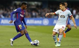 El Barça no pot amb el Celta a Balaídos i ajorna la sentència del títol (2-2)