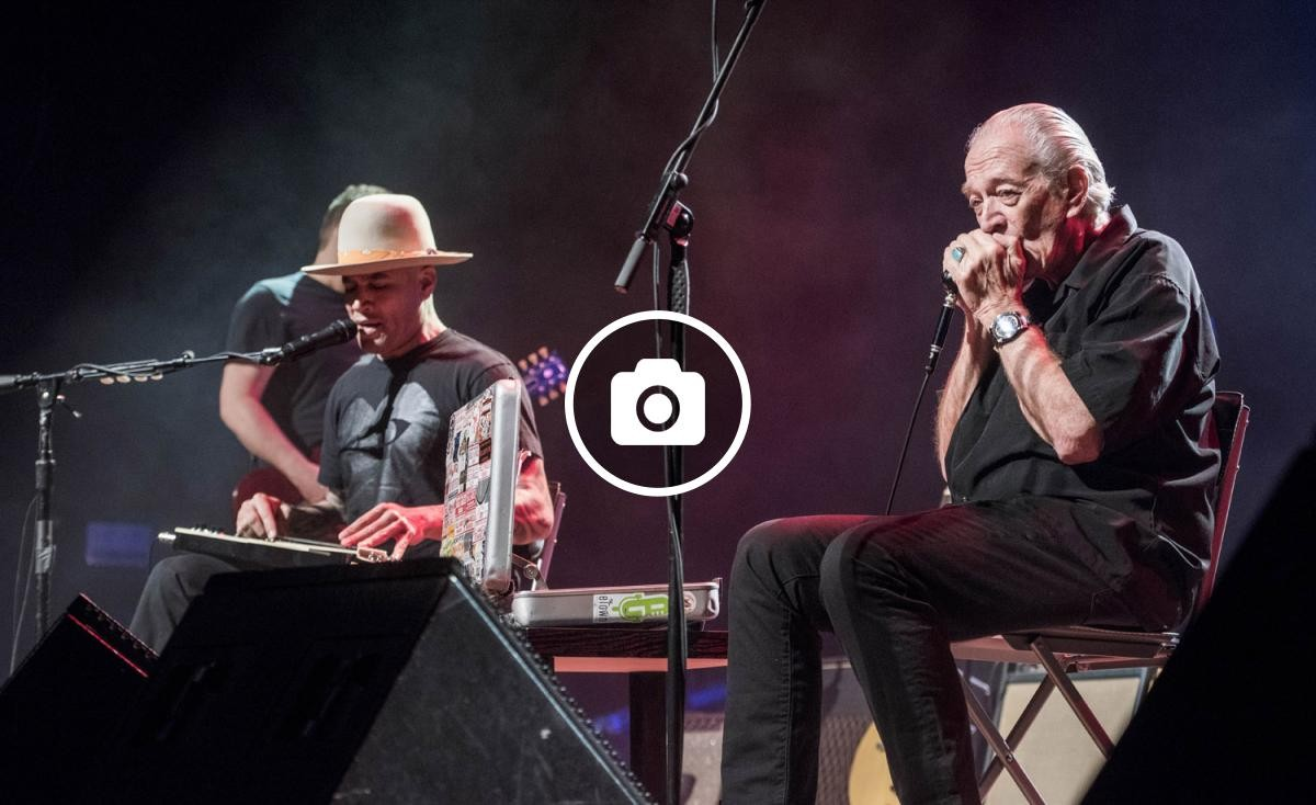 Ben Harper i Charlie Musselwhite en concert