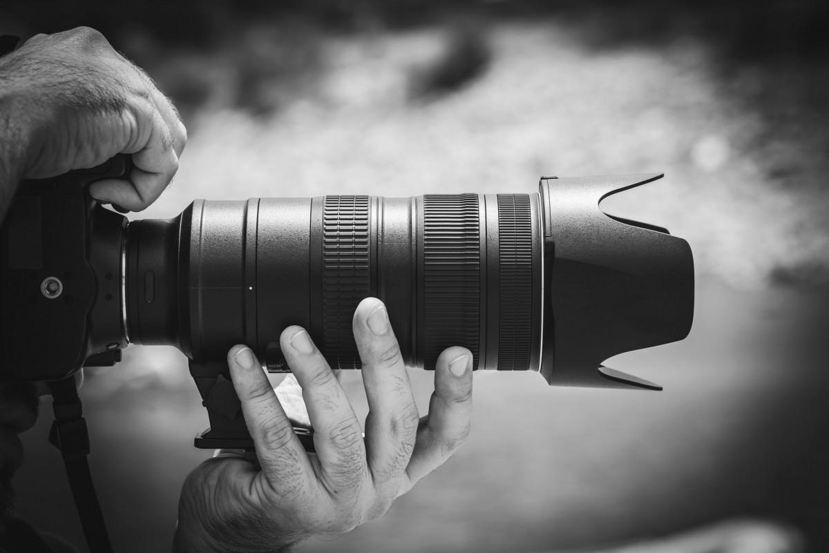 Una càmera de fotos