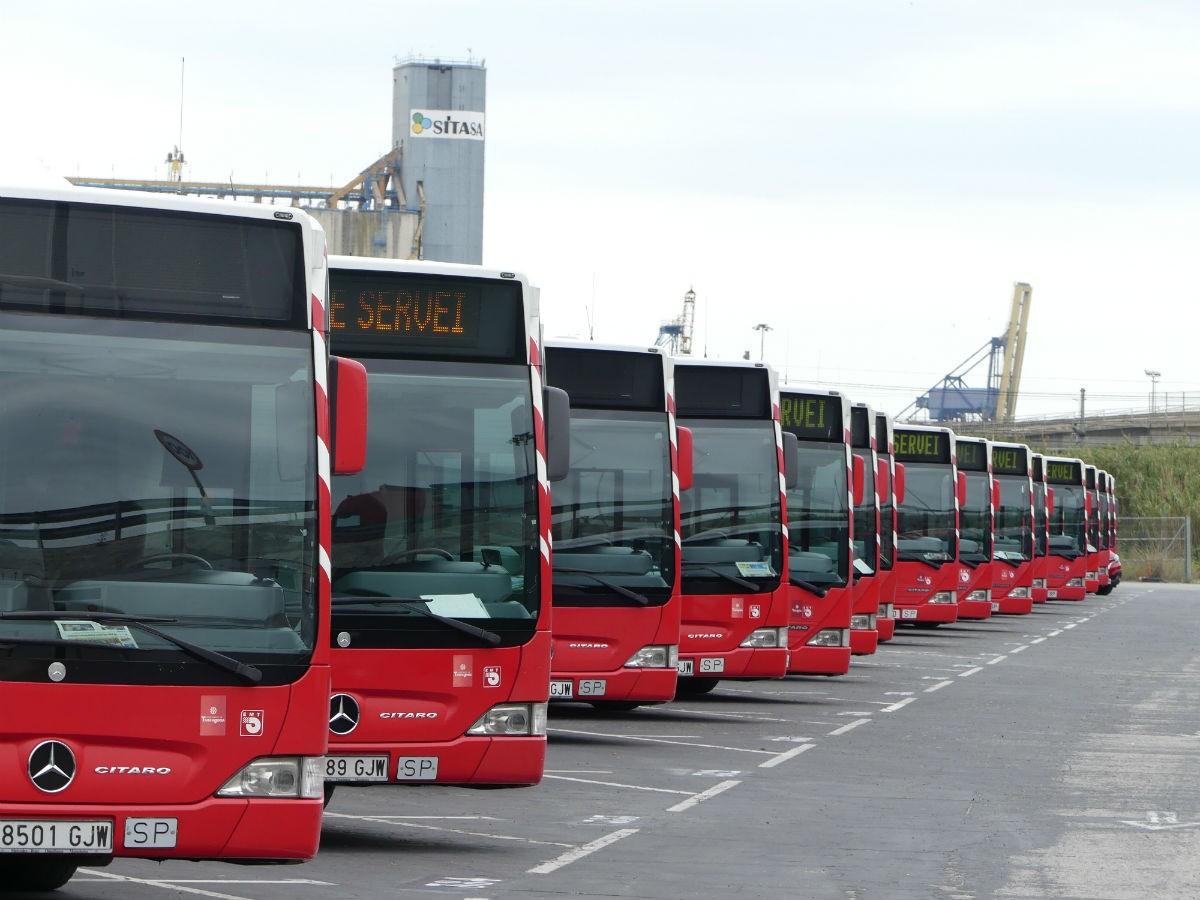 El sindicat USO portarà als jutjats l'empresa municipal de transports de Tarragona.