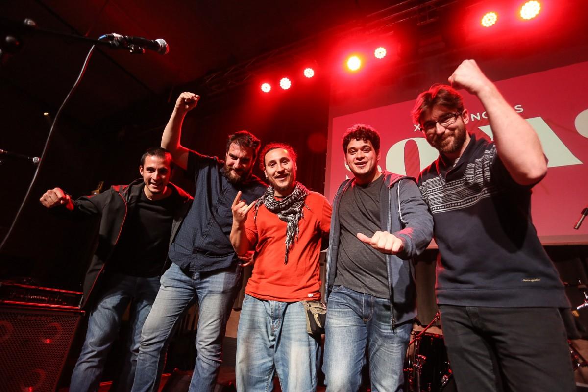 La formació barcelonina Ushanka celebra el pas a semifinals del Sona9 2018