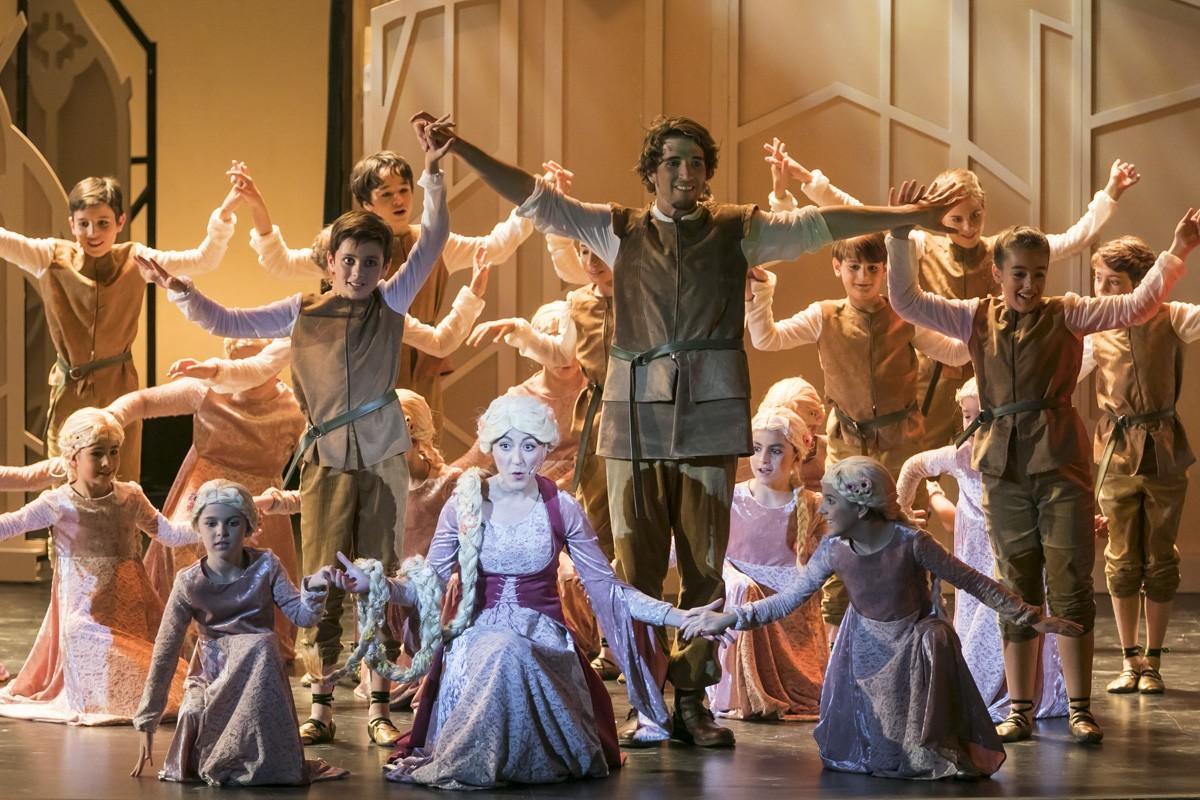 Un dels moments del musical