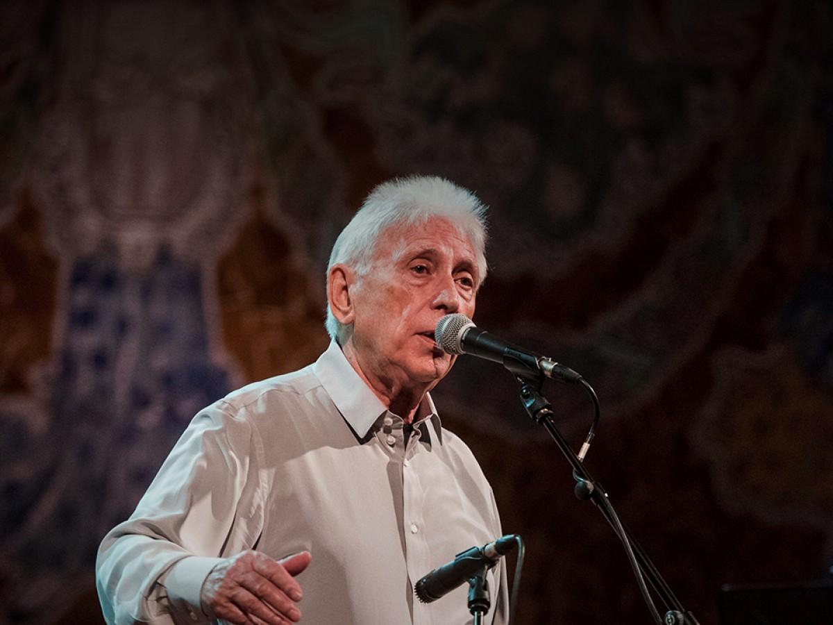 Darrera actuació de Raimon al Palau de la Música Catalana