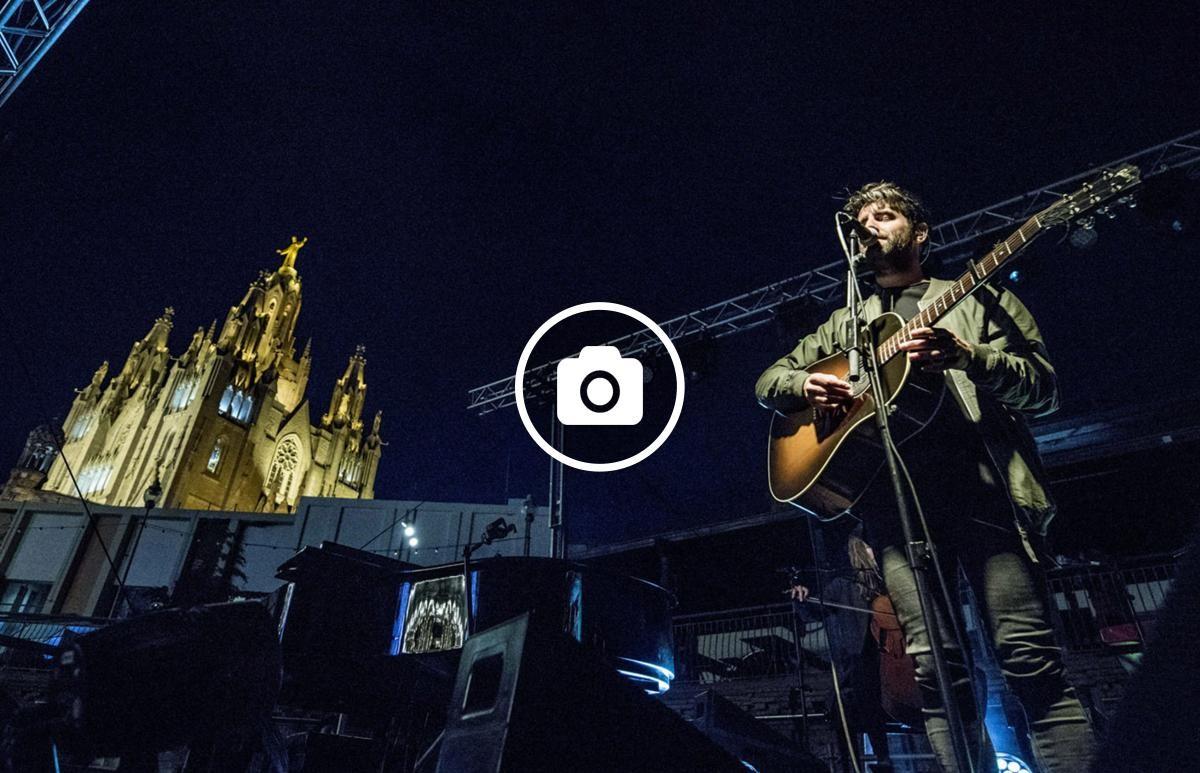 Joan Dausà en concert al Tibidabo