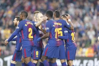 El Barça passa per sobre del Vila-real i es manté imbatut a la Lliga (5-1)