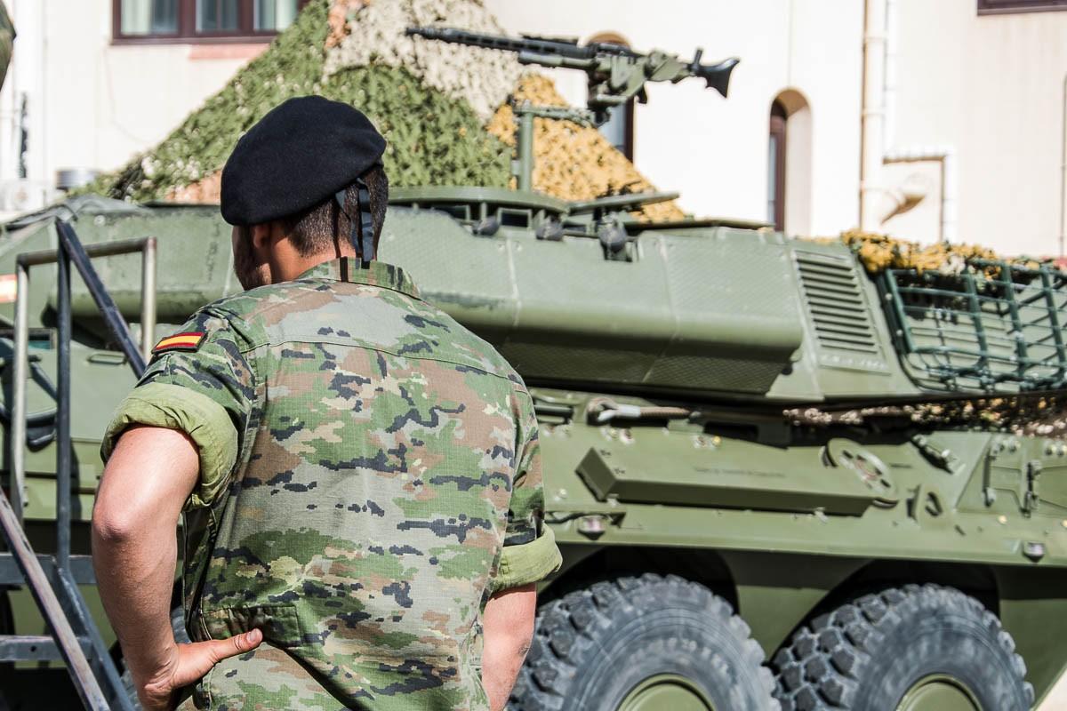 Imatge d'arxiu de les Forces Armades al quarter del Bruc