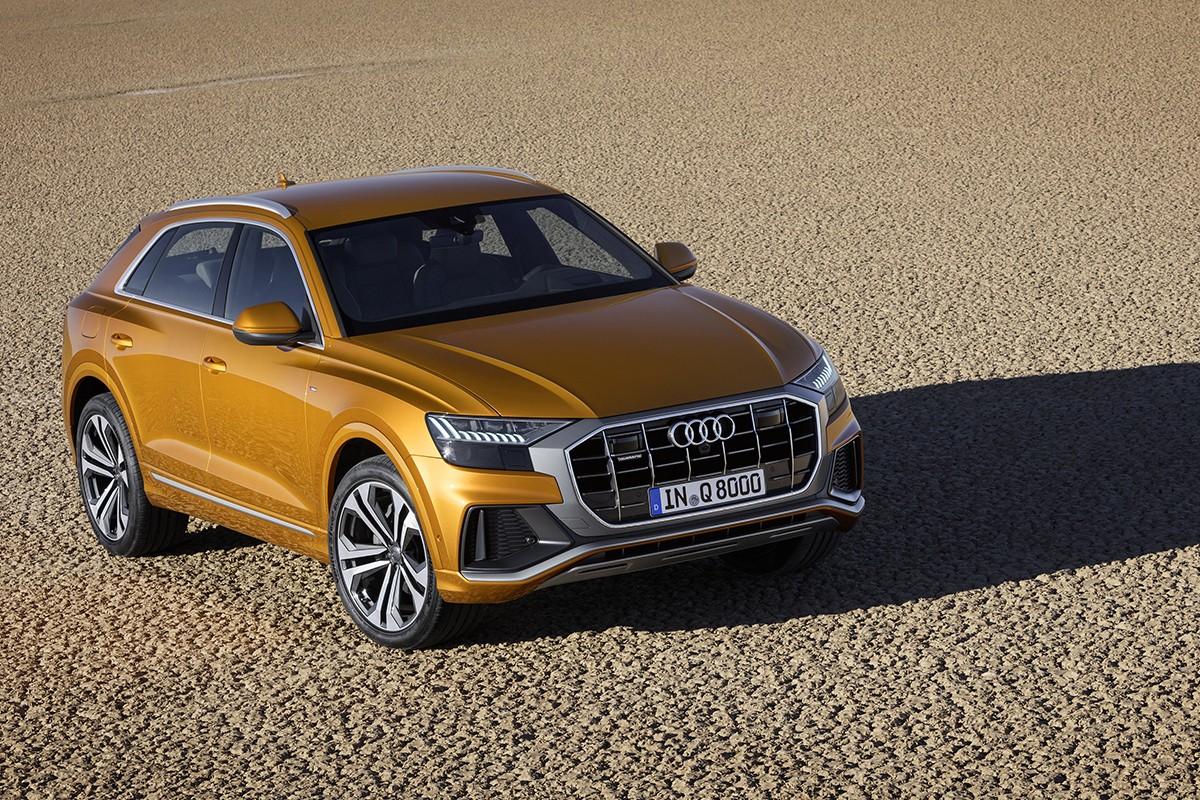 Audi Q8, el germà esportista del Q7
