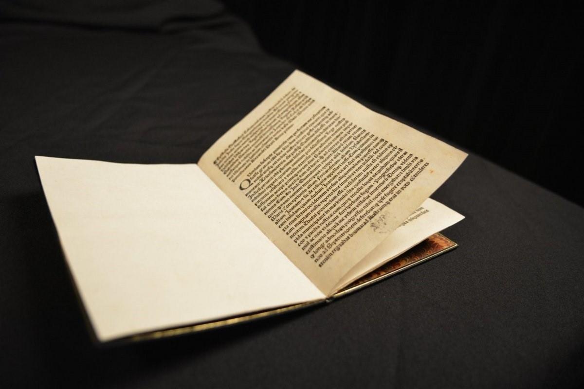 La carta de Cristòfor Colom, que ha retornat els EUA