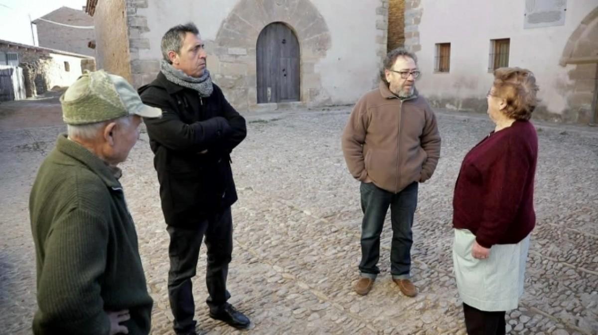 Pep Gimeno 'Botifarra' i Miquel Gil al programa de televisió 'Bambant per casa'