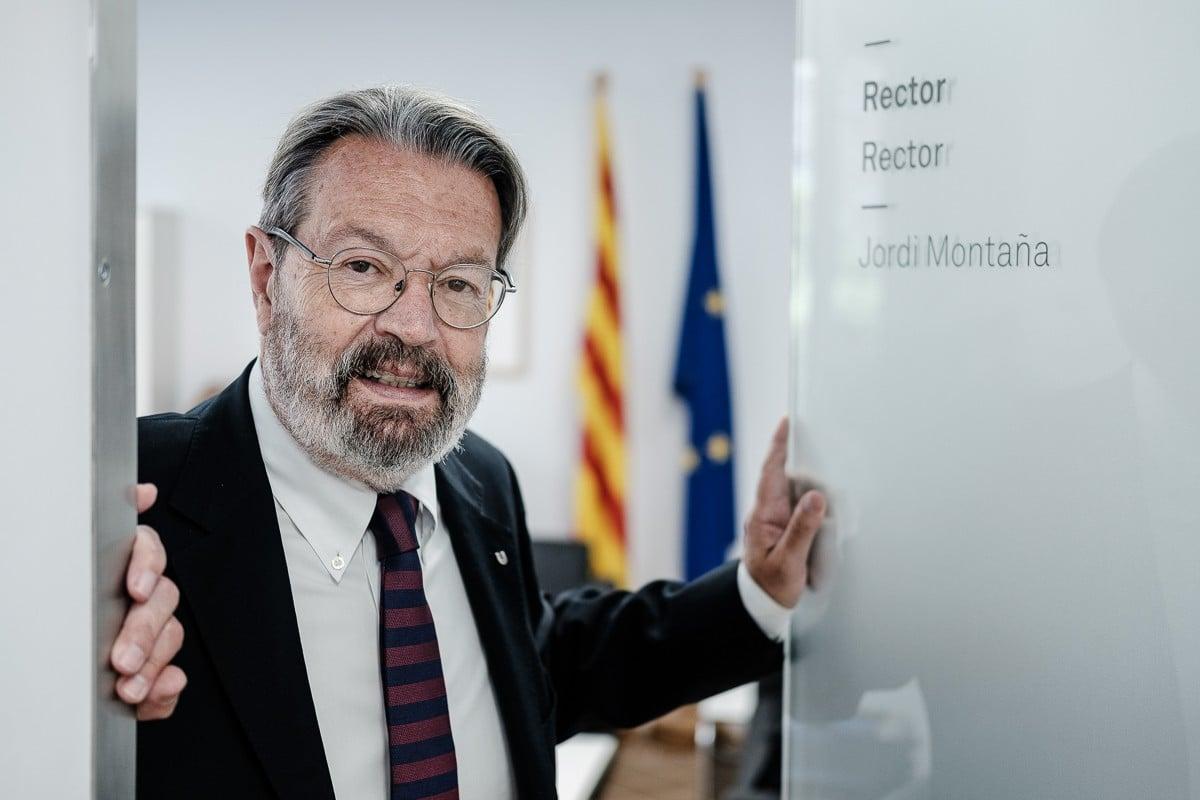 Jordi Montaña deixa de ser rector aquest divendres.