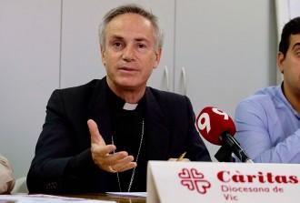 El bisbe de Vic qualifica la futura llei de l'eutanàsia de «derrota» i insta a no «plegar-se de braços»