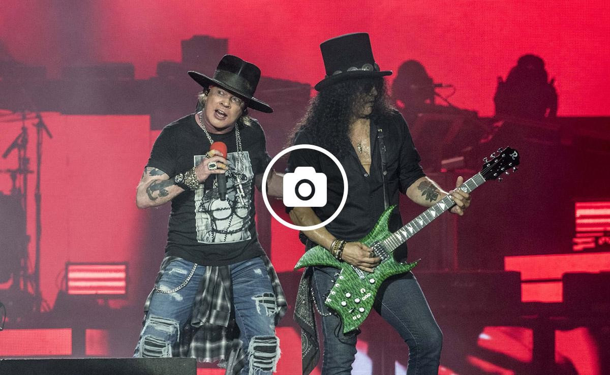 Axel Rose i Slash de Gun'N'Roses