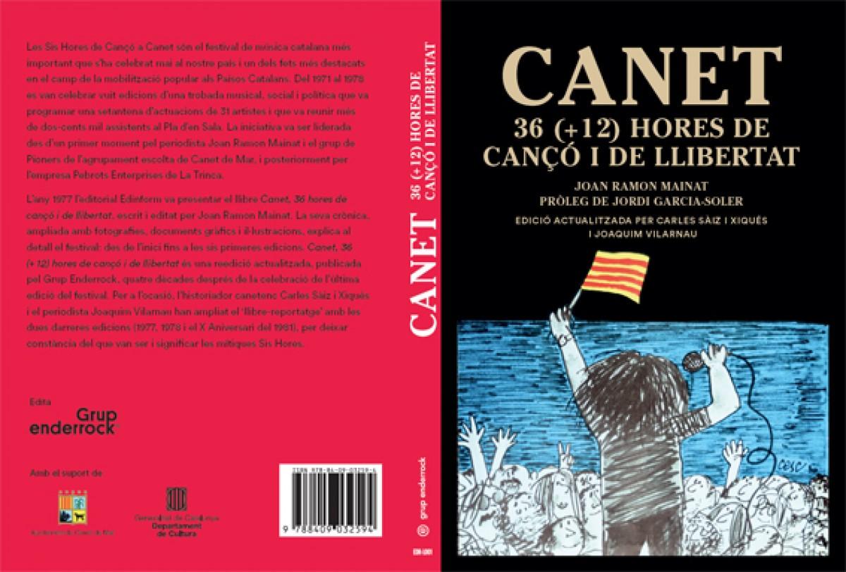 Portada de la reedició «Canet, 36 hores de Cançó i llibertat»