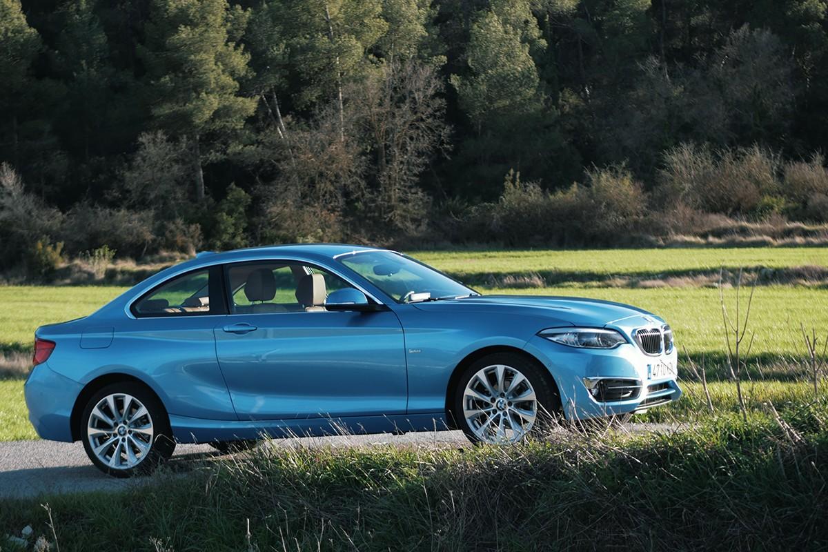El Serie 2 és el més petit dels coupés de BMW