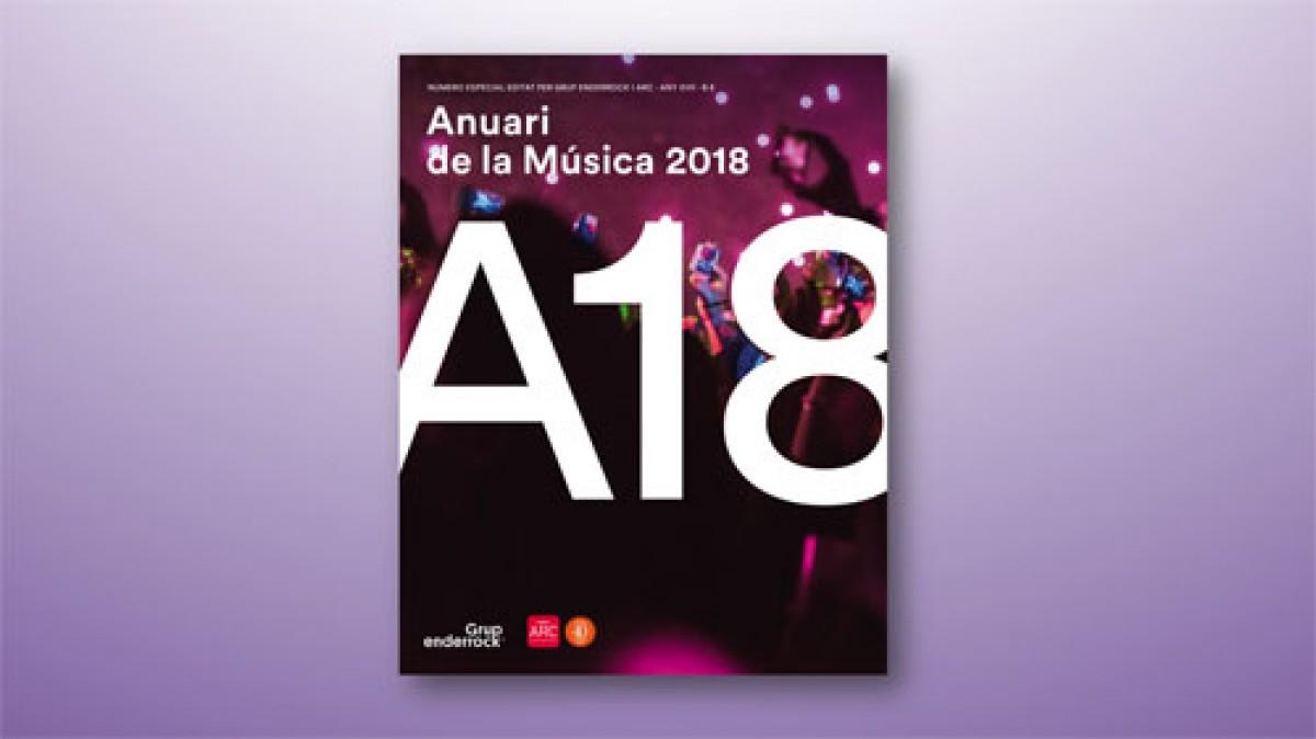 Portada Anuari de la Música 2018