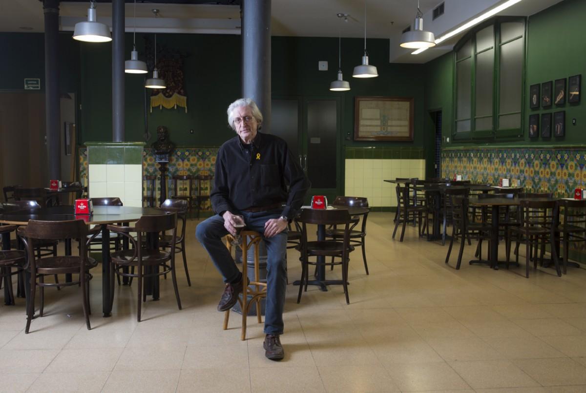 Jordi Fàbregas a la Taverna del CAT