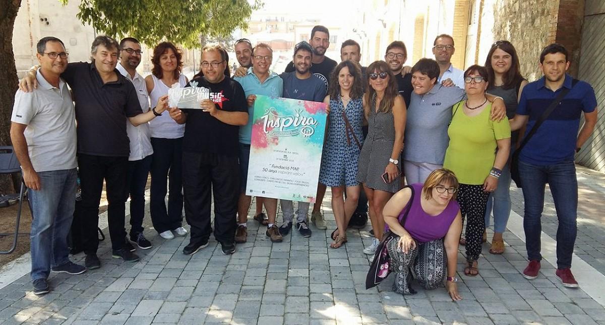 Els impulsors del festival inclusiu Inspira