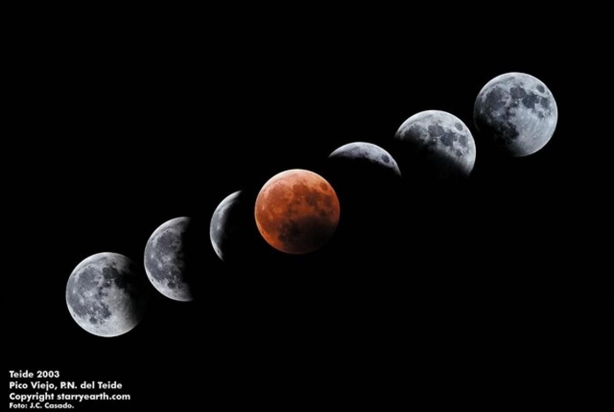 La lluna es tornarà de color vermell