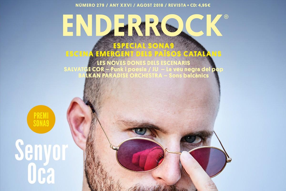 Portada de la revista 'Enderrock' 279