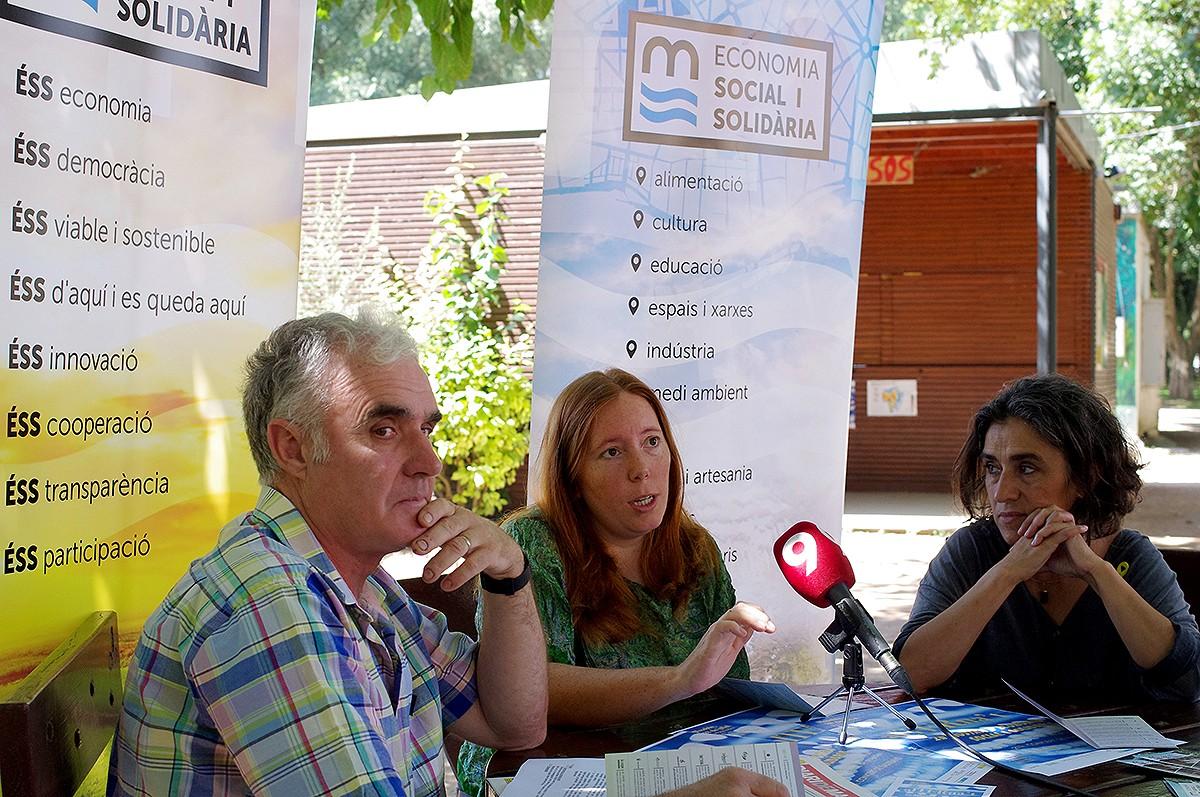 Durant la presentació de la segona edició de l'alTERna't