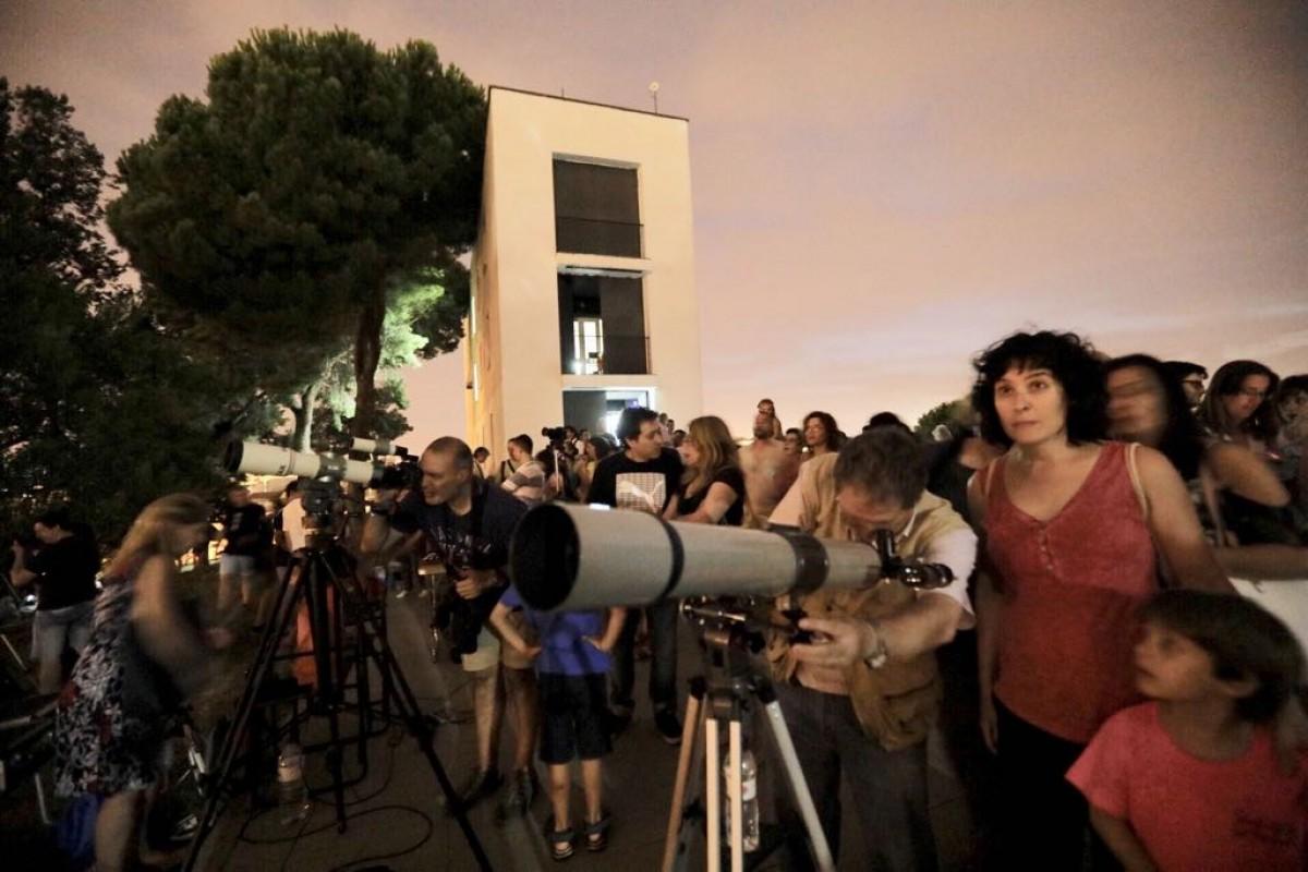 L'Observatori Astronòmic de Sabadell ha estat punt de trobada per seguir el fenomen
