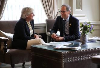Torra i Ponsatí critiquen l'acord entre ERC i Junts