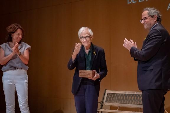 Vic lliure la Medalla d'Or de la Ciutat a Lluís Solà