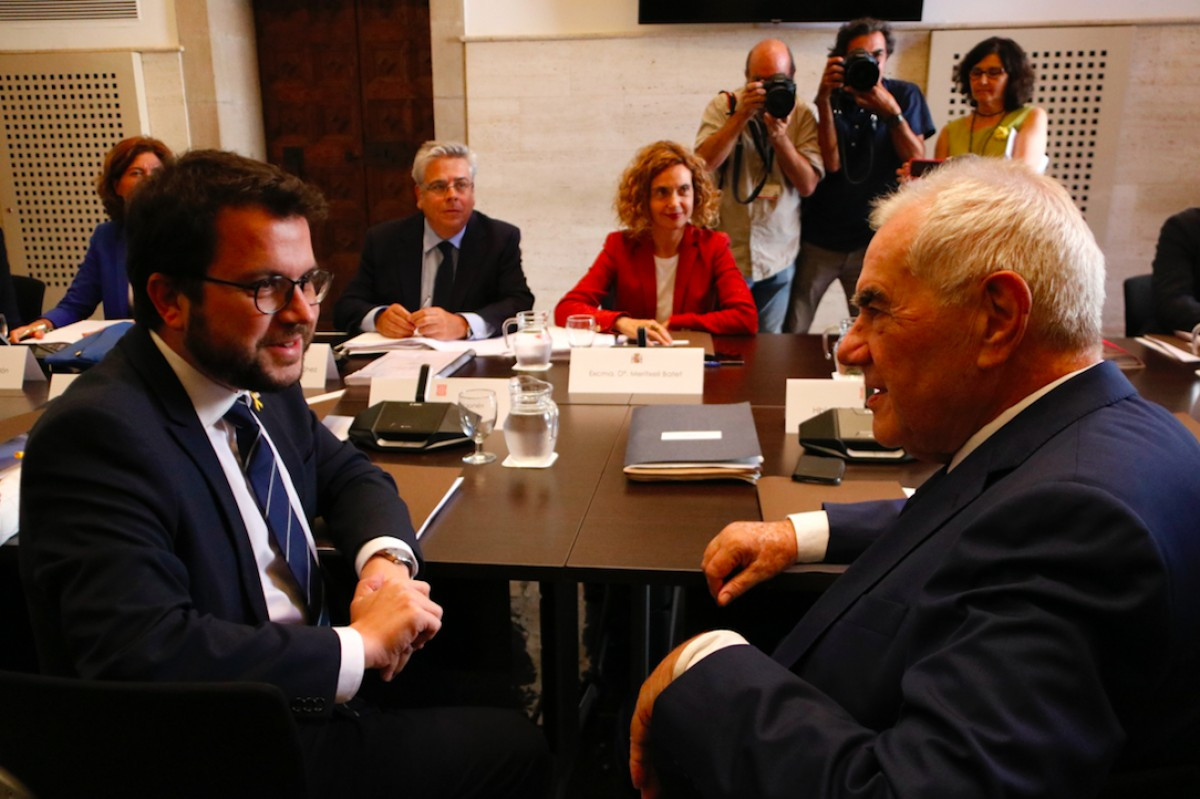 L'última trobada de la comissió bilateral va ser l'1 d'agost del 2018.