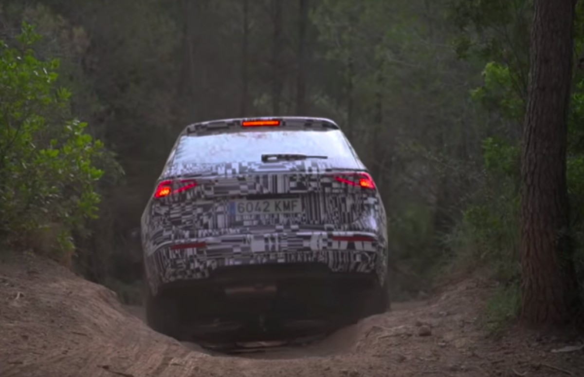 Captura del vídeo de la prova del nou SEAT Tarraco