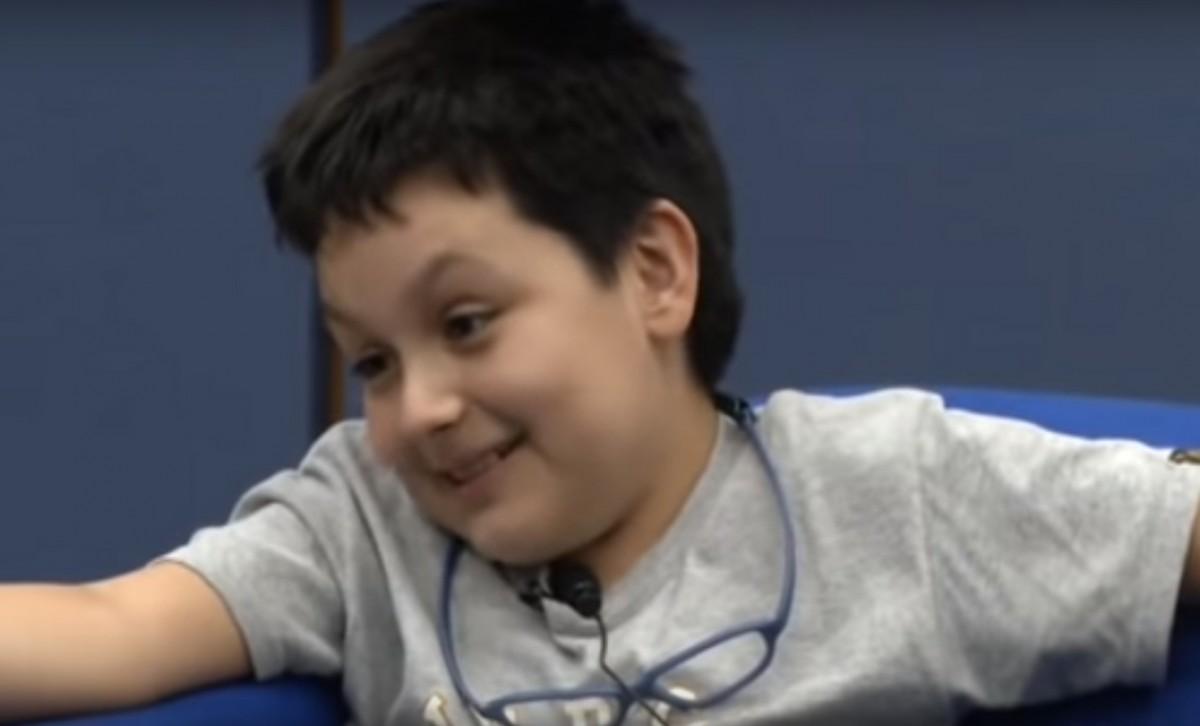 Carlos Santamaria, el jove geni de 12 anys.