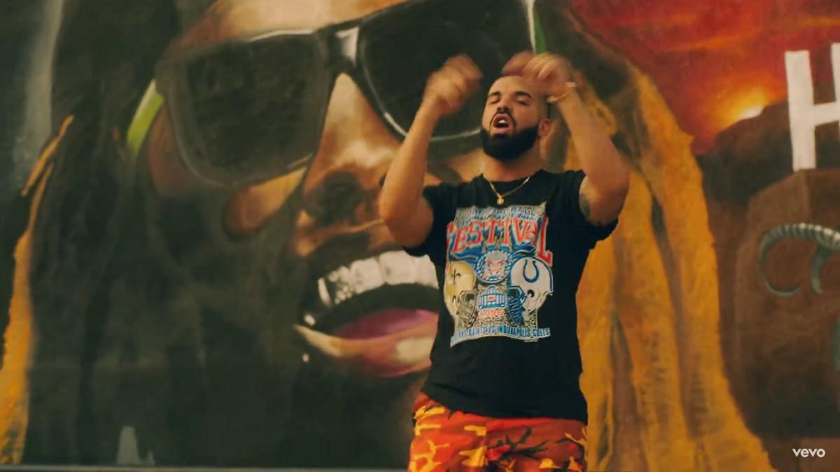El videoclip de Drake