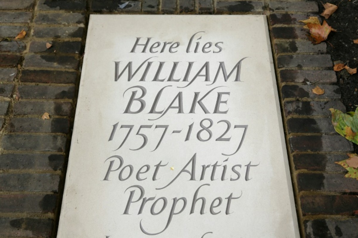 La tomba de William Blake