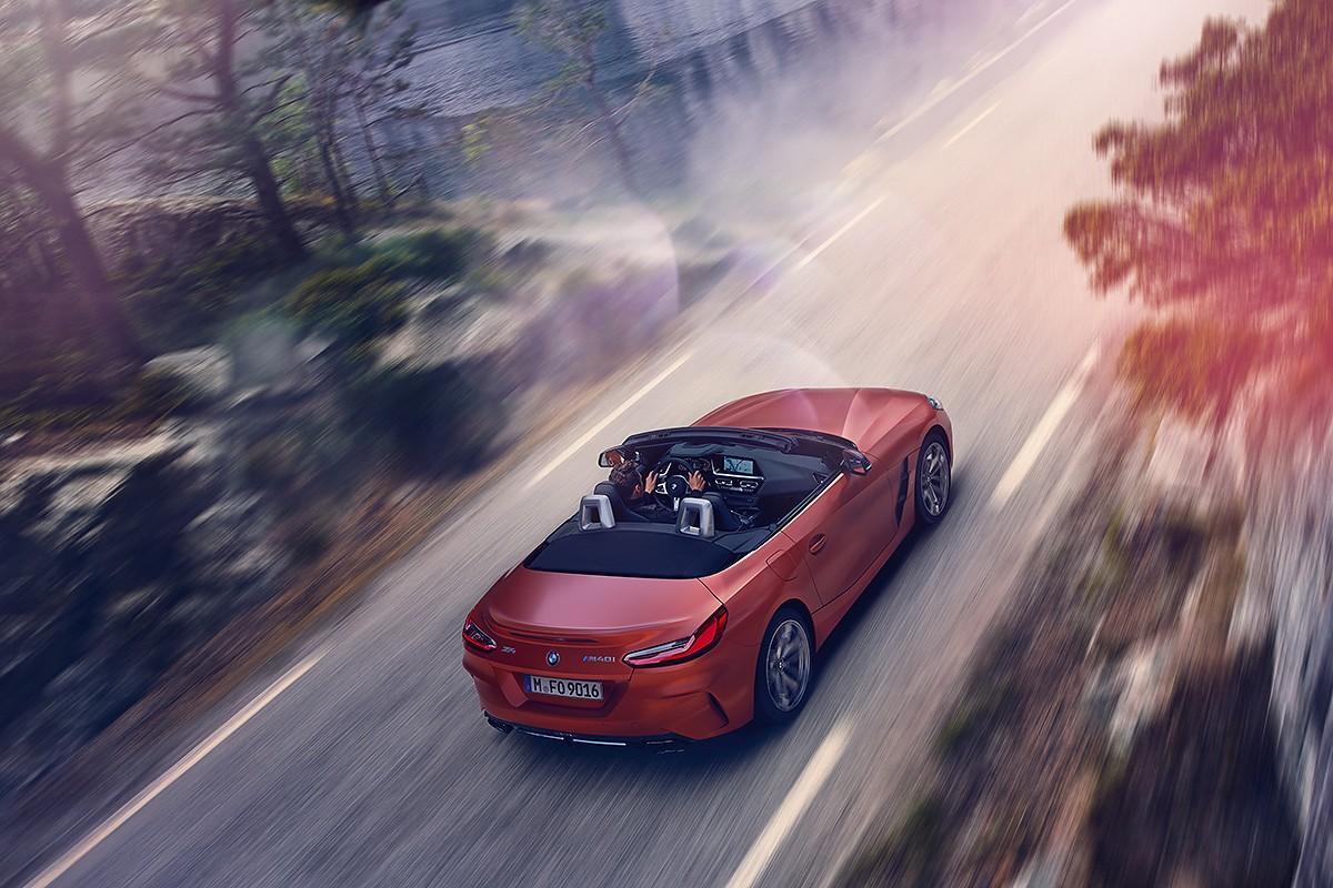 Imatge dinàmica i esmolada per a redefinir el concepte Roadster