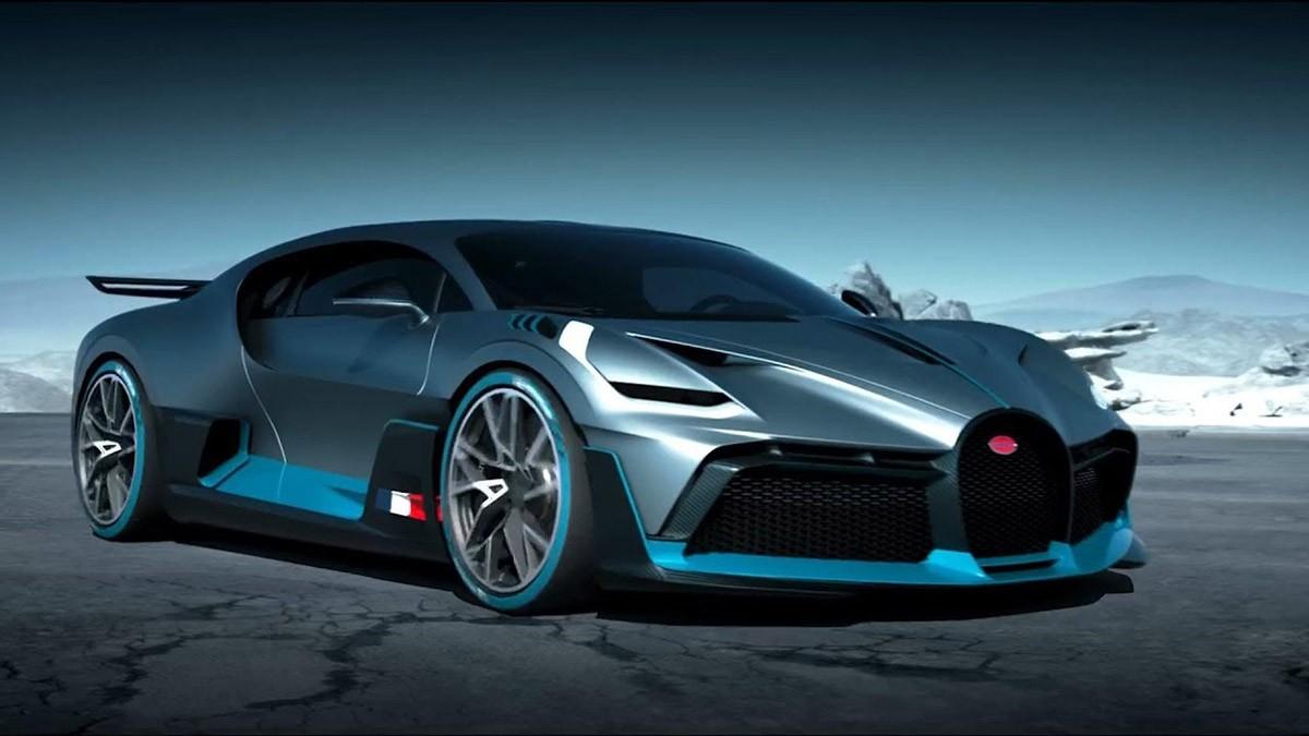 El Divo, el Bugatti més esportiu