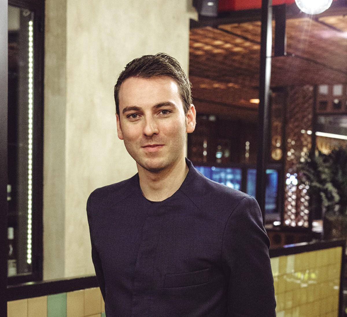 Rubén Pol, sommelier del restaurant Disfrutar