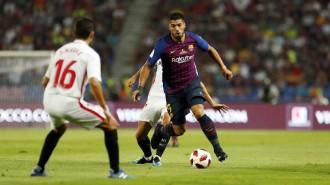 Ter Stegen i Dembélé empenyen el Barça cap al primer títol de la temporada (1-2)