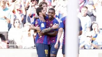 El Barça derrota el Boca Juniors i alça el sisè Gamper consecutiu (3-0)