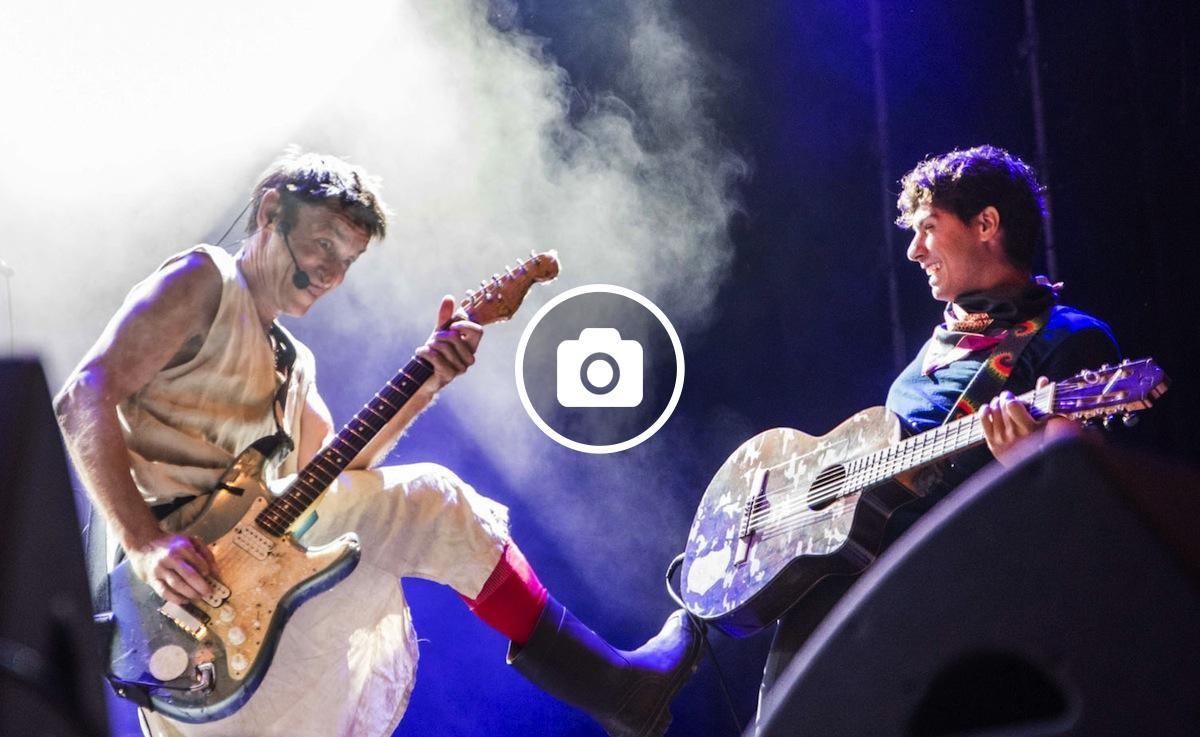 Albert Pla i Alfred Garcia al Festival Actústica 2018 (Figueres)