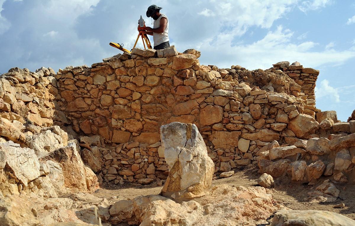 Excavacions a la residència fortificada de Sant Jaume, a Alcanar
