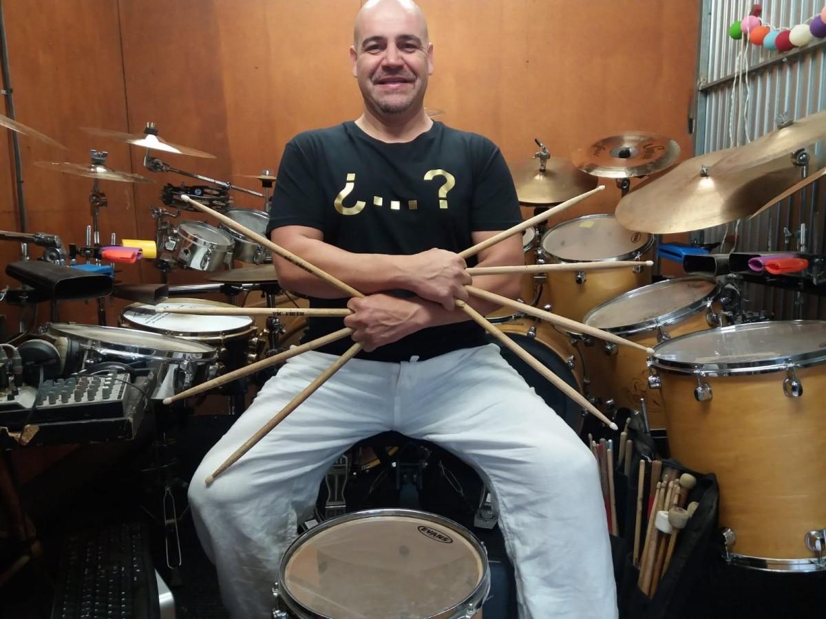 El bateria David Ferrer
