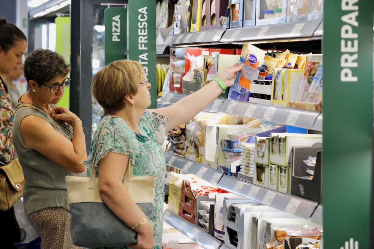 Un supermercat de Sabadell.
